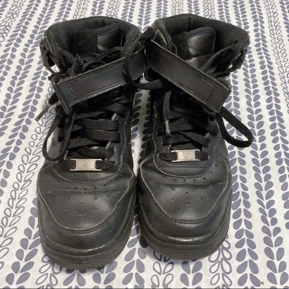 Nike Shoes   Mid High Black Air Force S